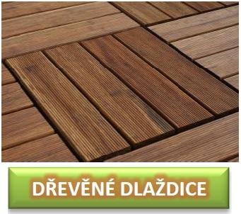 dřevěné dlaždice