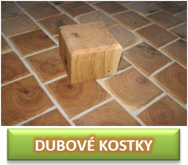 dubové kostky