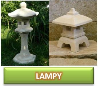 zahradní lampy