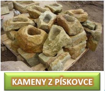 kameny z pískovce